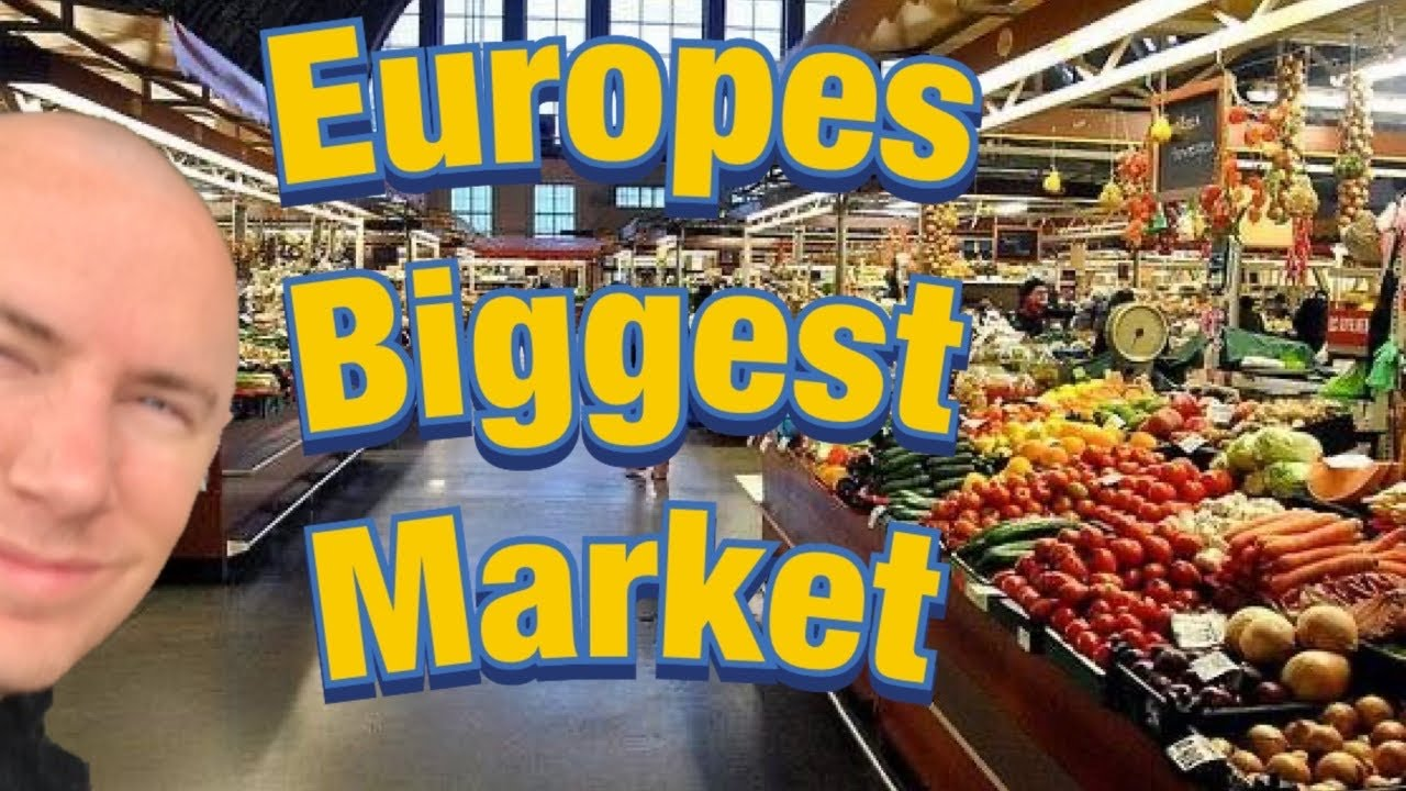 Europe's Biggest Market - Unbelievably it's in Riga Latvia! ...