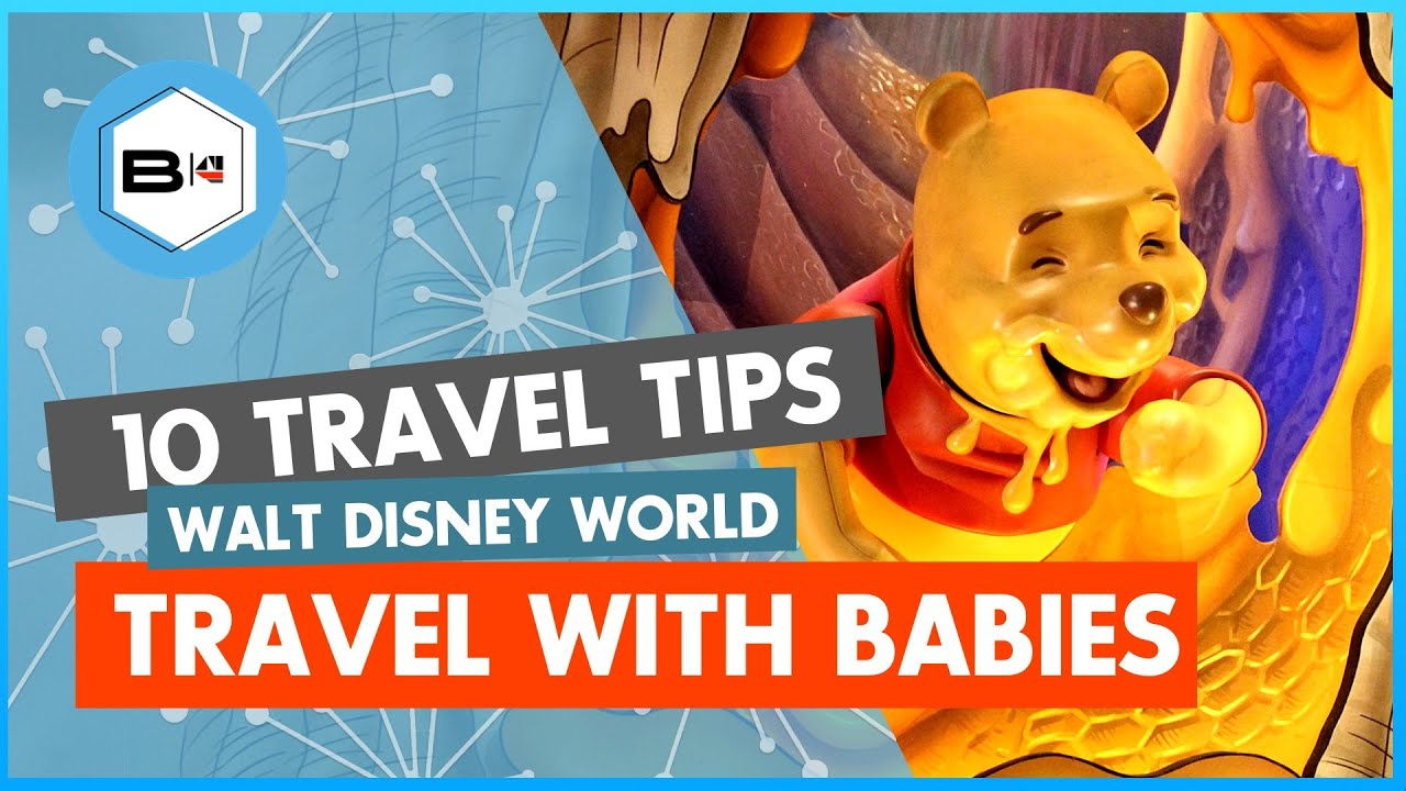 Top 10 Tips on Traveling Walt Disney World with Babies and Toddlers
